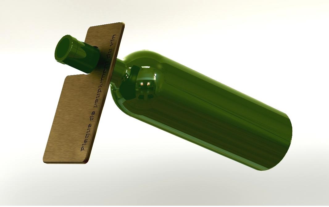 Multi wine rack by eurodesignmold plaque de peuplement du vin - Wine bottle storage angle ...
