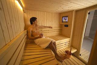 sauna,  tempat sauna, manfaat sauna, khasiat sauna