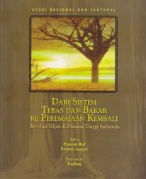 toko buku rahma: buku DARI SISTEM TEBAS DAN BAKAR KE PEREMAJAAN KEMBALI, pengarang francois ruf, penerbit salemba empat