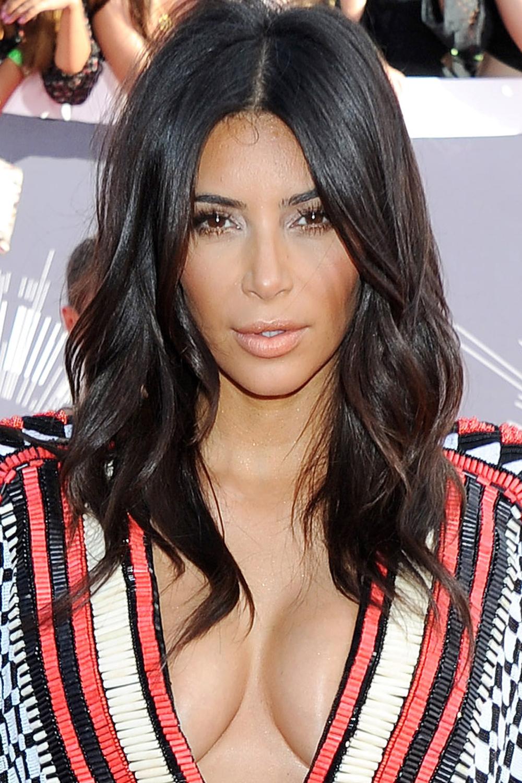 Lola Blue Style Kim Kardashian Beach Waves Tutorial Instyle