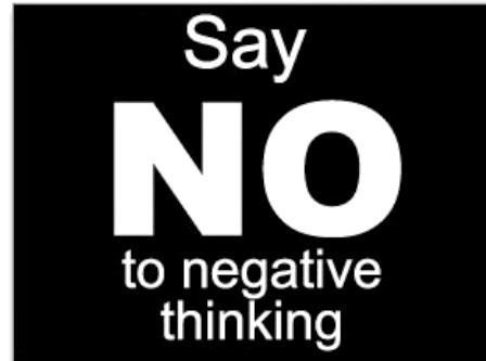 menghilangkan pikirang negatif