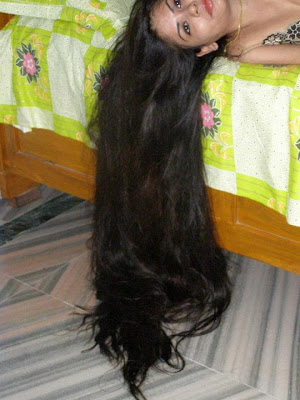 Kerala Long hair girls photos: A very lovely and beautiful hot college girl with long hair from ...