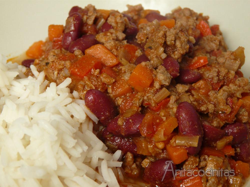 Anita Cocinitas: Chili con carne