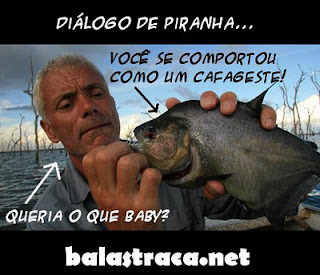 discovery piranhas, mulher safada, periguete, dialogo de piranha, balastraca