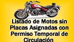 Listado de Motos - Sin Placas Asignadas