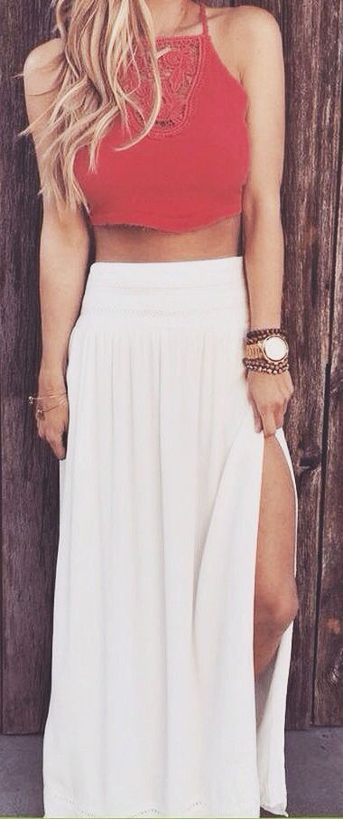 Cool summer outfit  #Summer