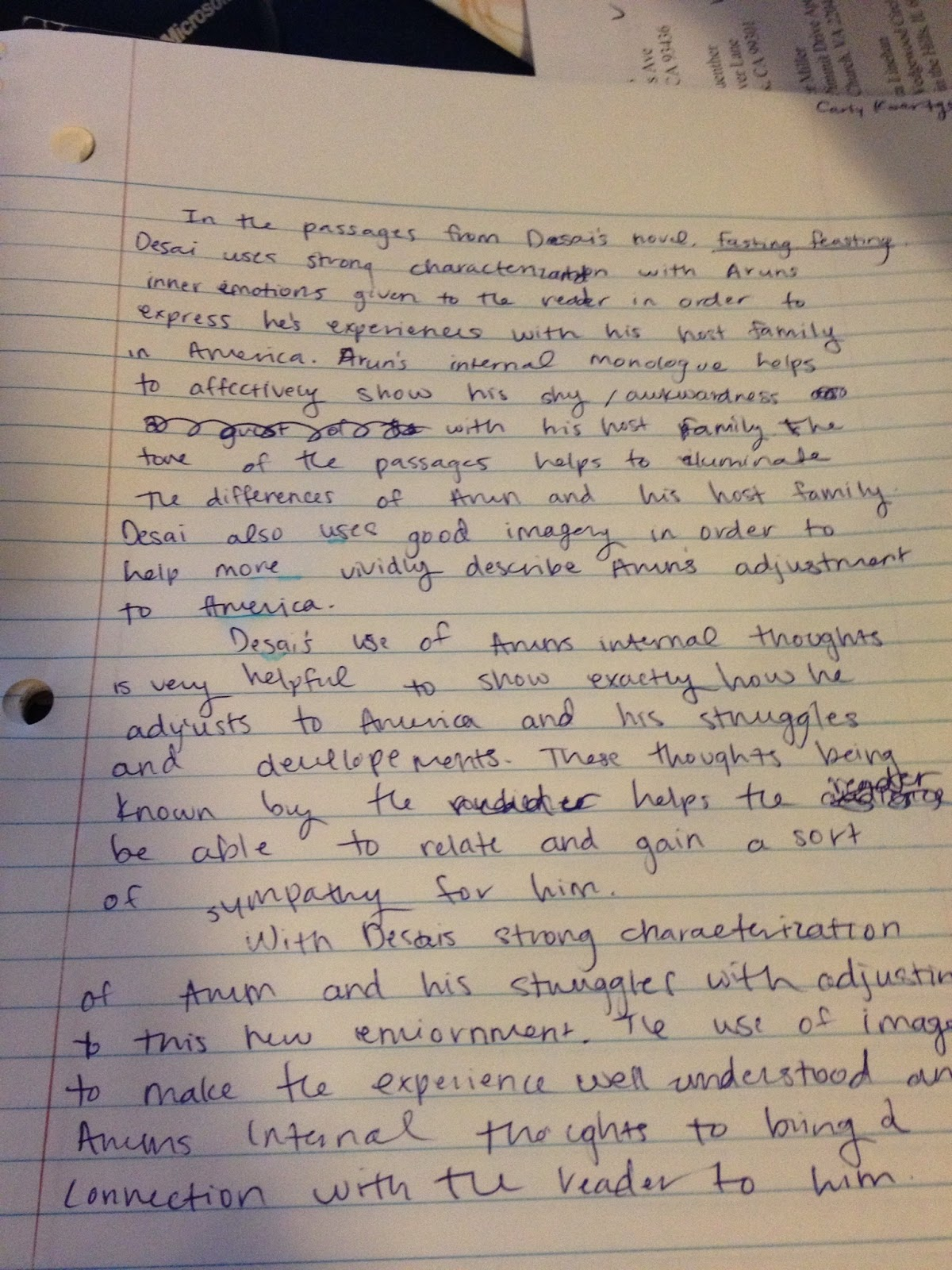 carly koertge s ap lit comp blog in class essay 4