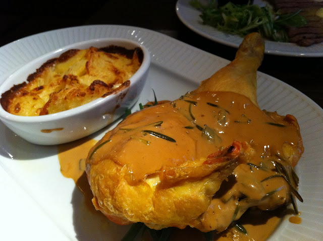 Cote+Brasserie+Islington+Upper+Street+review+roast+chicken