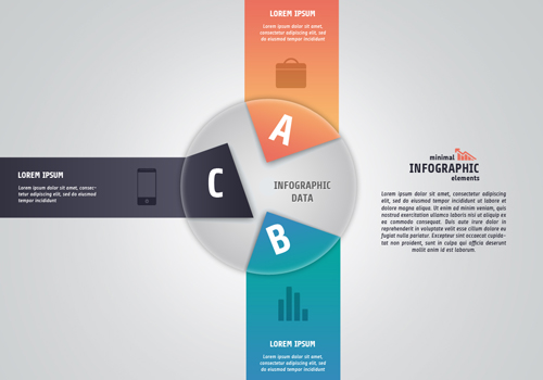 Create Minimal Infographic Design In Photoshop