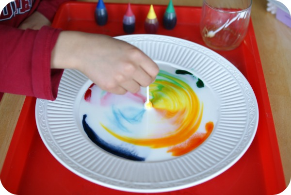 Musing Momma: Super-Easy Saturday Morning Science Project