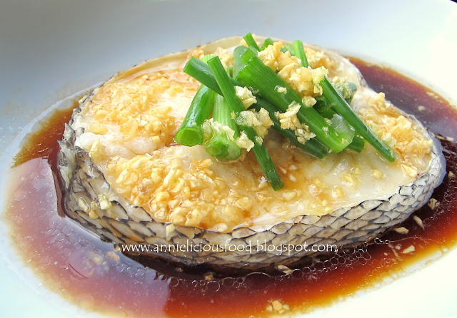 Annielicious food hong kong style steamed cod fish for Cod fish in chinese