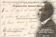 Participación Un paseo con Machado 2013