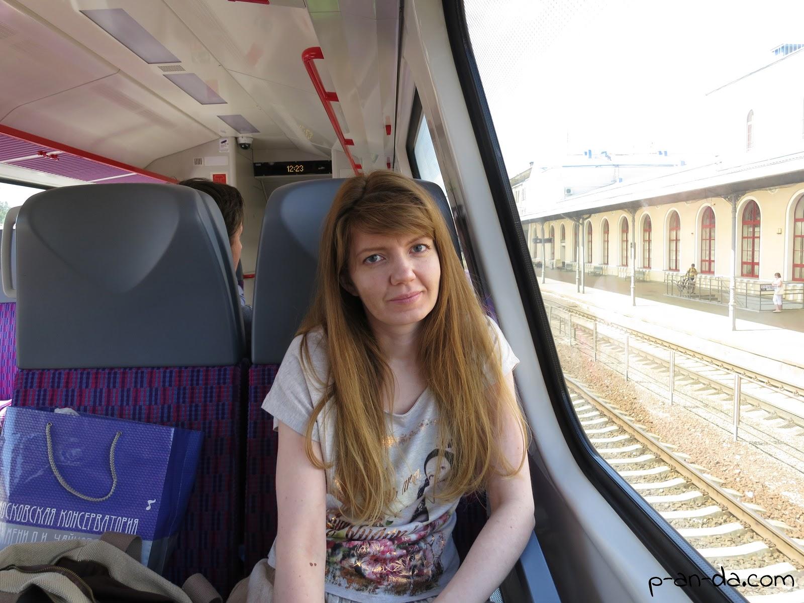 Скрытая съемка в вагоне поезда 3 фотография