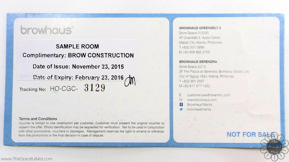 The Graceful Mist Browhaus Manila The Brow Salon Experience