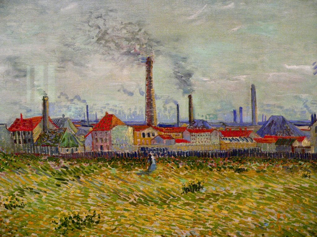 Lukisan pemandangan terkenal by vincent van gogh