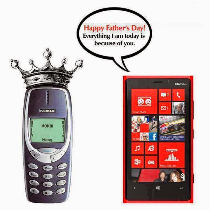 Happy Fathers Day - Nokia - Desi Unit - Desi Stuff