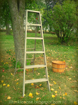 {I Think I Can}:  I Love Bushel Baskets, fall scene