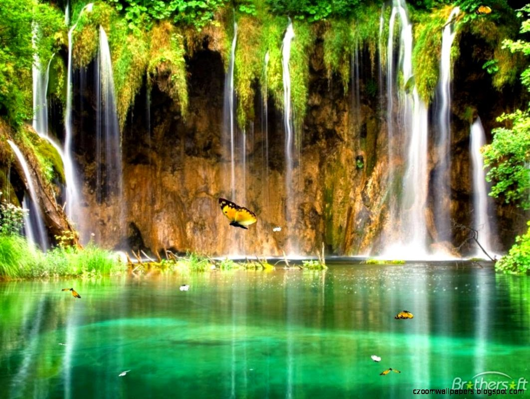Animated Waterfall Wallpaper For Vista