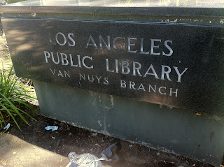 Monument for van nuys public library
