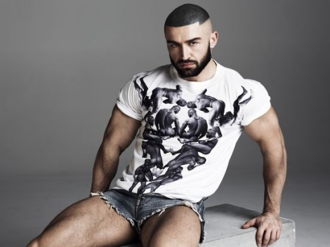 Francois Sagat Interview photography by Philip Riches