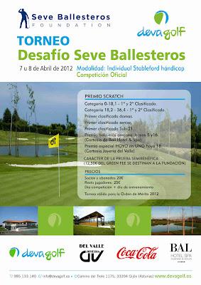 Deva Golf con Fundacion Seve Ballesteros
