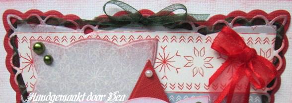 Bea 39 s creja kaarten een kersteaselkaart for Organza zakjes xenos