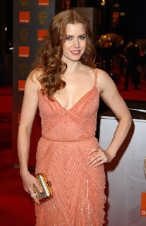 Amy Adams at the Baftas