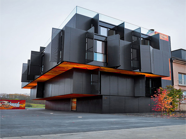 Modern Apartment Building Design Fanciful Contemporary Modern ...
