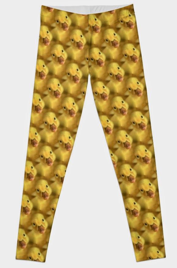yellow chicks leggings