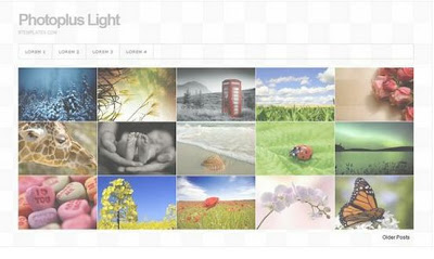 10 Template Gallery Photo Menarik Blogger