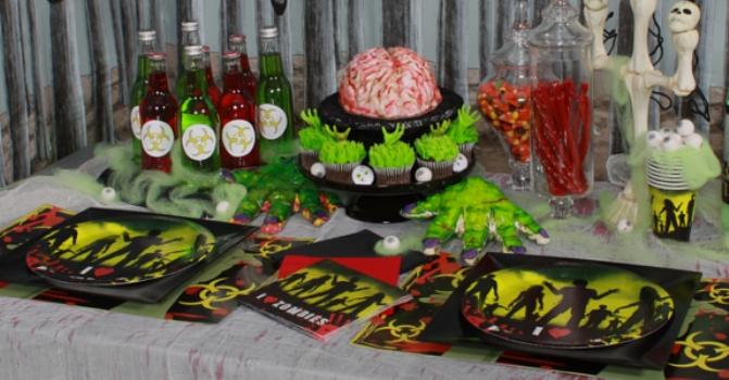 decoracao festa zumbi:Ideias para Festas: Halloween – Festa Zumbi