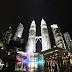 Twins in Kuala Lumpur