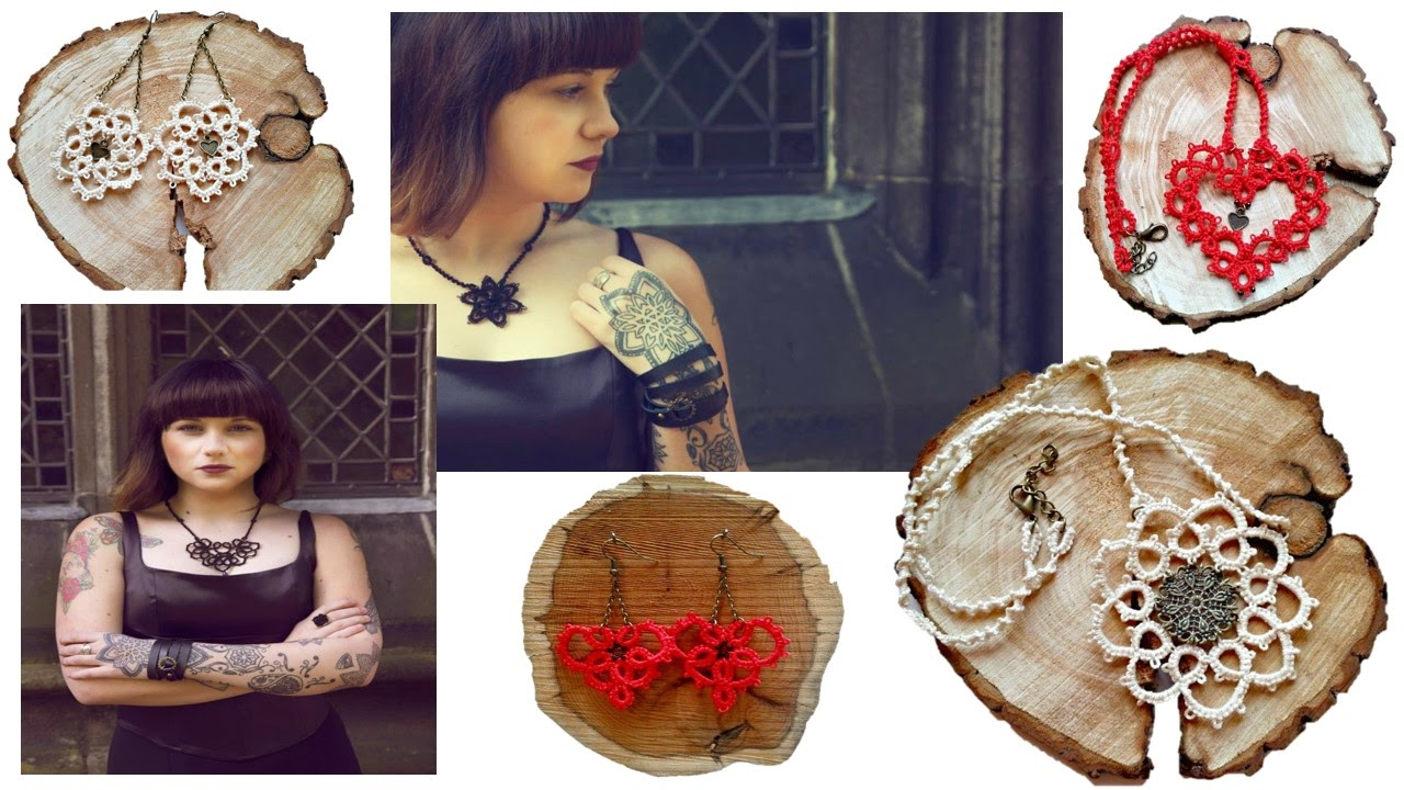 Tatted jewellery by Shadow Crafts