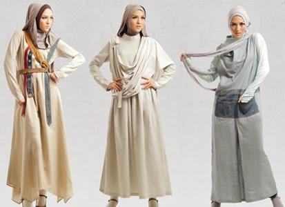 Kumpulan Desain Baju Muslim Terbaru 2014 untuk Lebaran