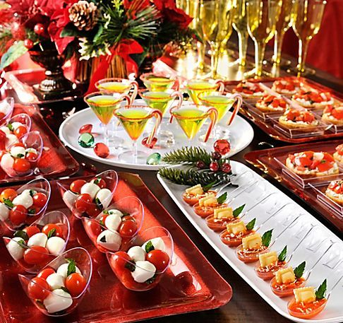 Christmas dinner decorations