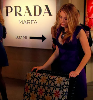 gossip girl prada marfa sign diy another kind of beauty. Black Bedroom Furniture Sets. Home Design Ideas