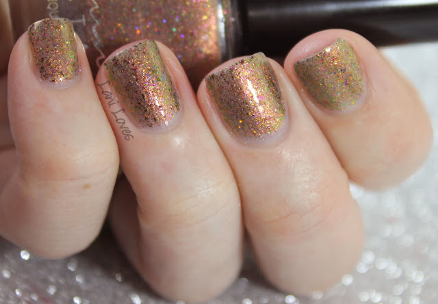 Femme Fatale Cosmetics Secret of Secrets nail polish swatches & review
