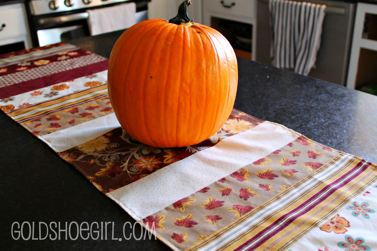 Goldshoegirl Fall Table Runner Kitchen