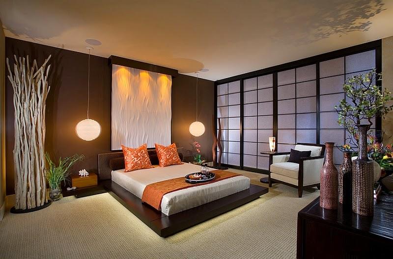 Conseils d co et relooking chambre design quelques secrets de syle asiatique - Chambre style moderne ...