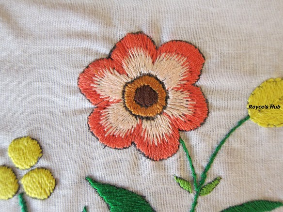 Royce s hub basic embroidery stitches long and short stitch