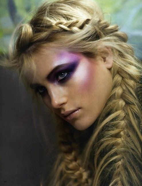 Feather braids