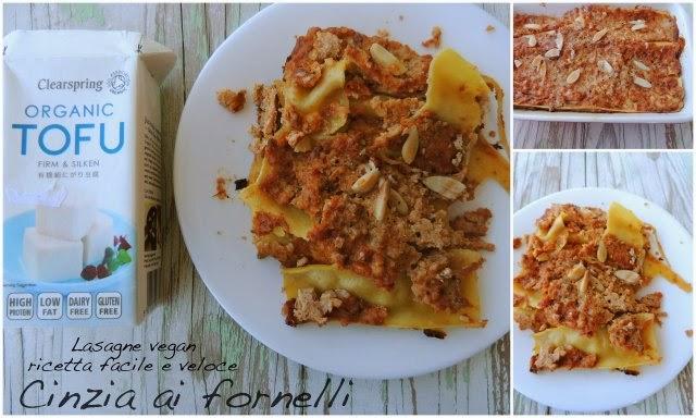 lasagne vegan ricetta facile