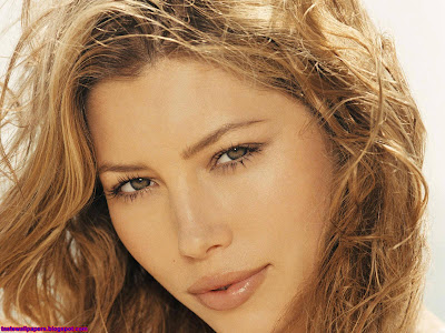Jessica Biel HQ Wallpaper lips