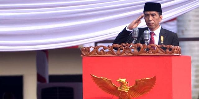 Jokowi hadiri peringatan Hari Bhayangkara ke-69