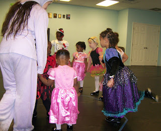 charlotte children dance classes halloween
