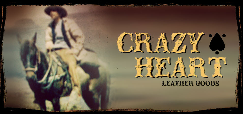 Crazy Heart Leather Goods