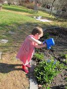 Elin i mormors trädgård