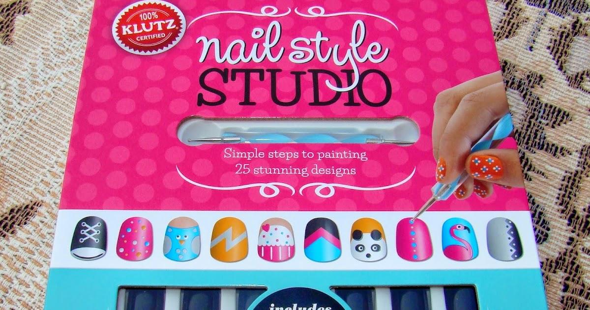 Pretty Nails and Tea: KLUTZ Nail Style Studio | Nail Art Book Review