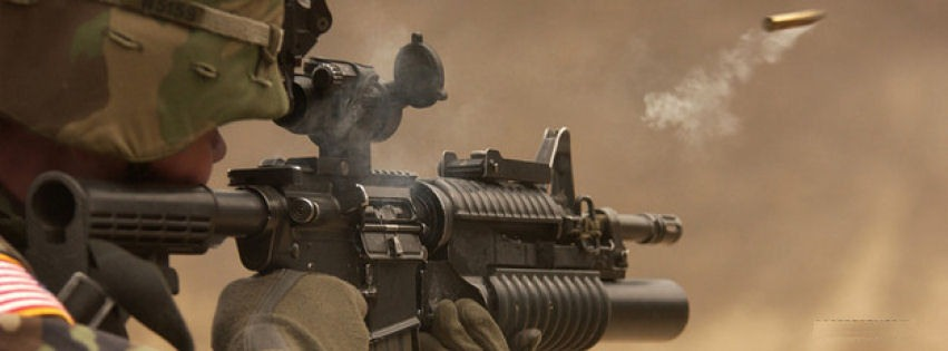 M4 carbine facebook cover