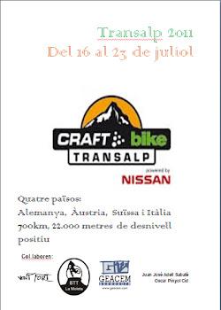 PROJECTE TRANSALPS 2011